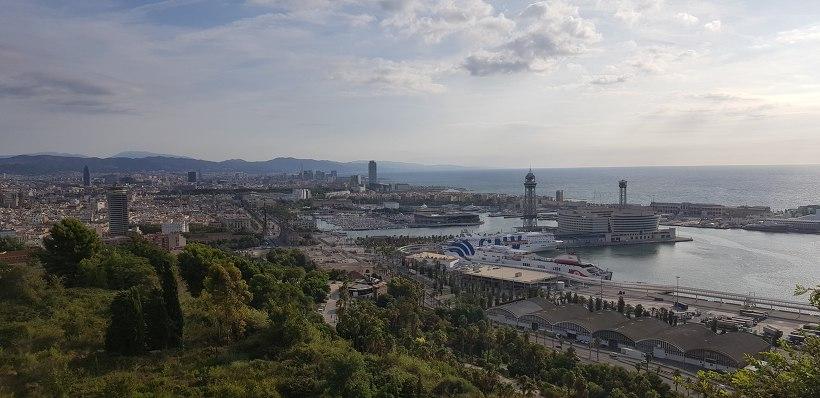바르셀로나 몬주익 언덕
