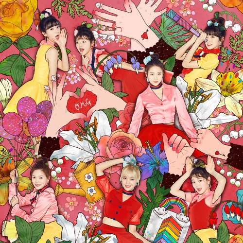 OH MY GIRL – Coloring Book Lyrics [English, Romanization]