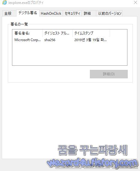 Internet Explorer 인증서
