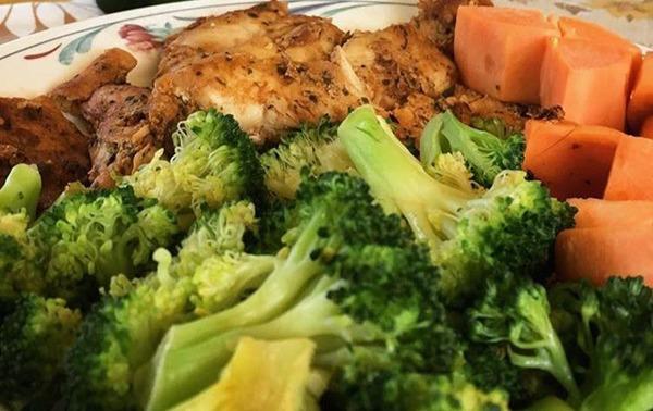 샘 로운의 다이어트 식단
