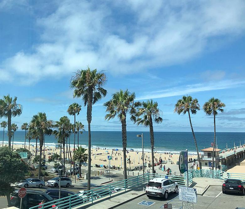 여유로운 분위기의 맨해튼 비치 즐기기 [LA 여행,맛집 / 캘리포니아 여행/ 엘에이 바닷가/ Manhattan Beach]