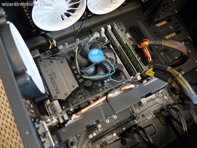 CPU의 기본 쿨러를 GAMMAXX 400으로 교체해 보았습니다11