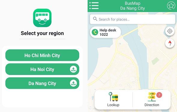 다낭, 호이안 버스로 가기 - 베트남 버스앱 사용