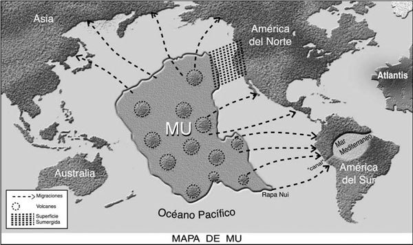 Lost empire of Mu