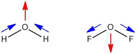좋은 습관 :: OF2의 루이스 구조식. Lewis structure of OF2, oxygen ...