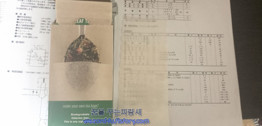 Rishi Tea Loose Leaf Tea Bags 내용물