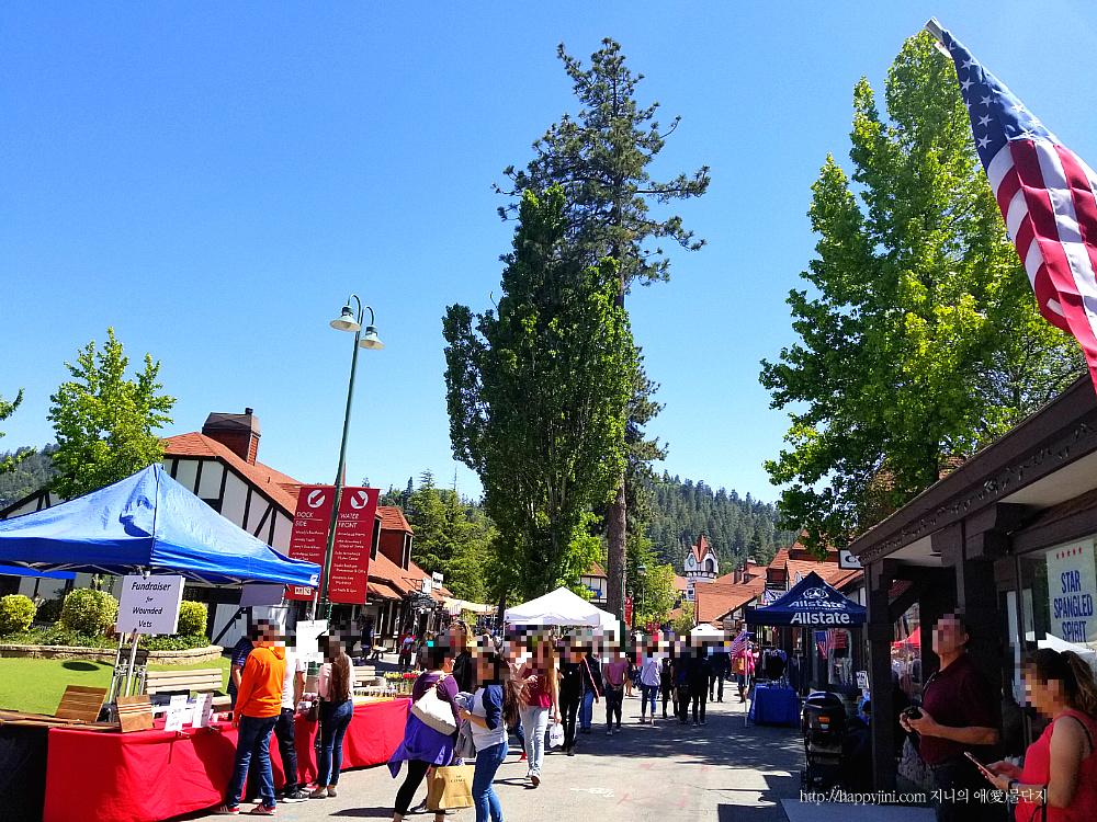 공기 좋은 산 속의 쇼핑몰♥레이크 애로우헤드 빌리지 즐기기! [ Lake Arrowhead Village/ 캘리포니아 여행 ] 코치 아울렛