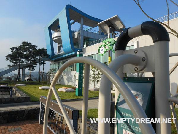 영산강 자전거길: 죽산보 인증센터