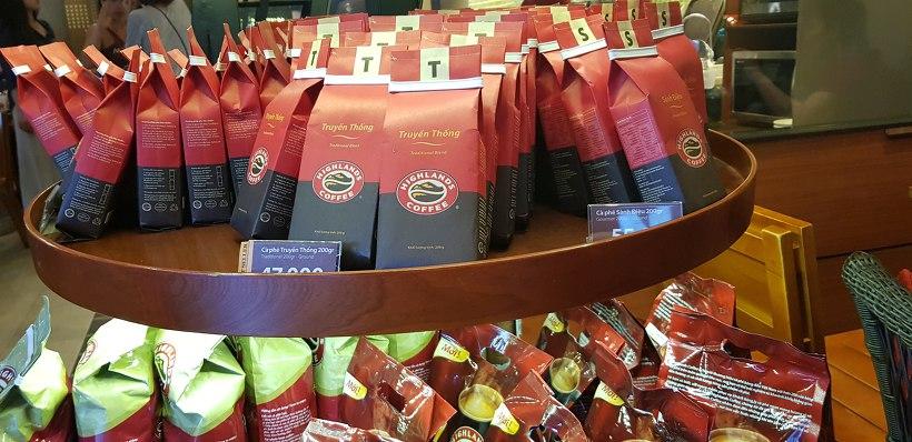 베트남 호치민 하이랜드 커피
