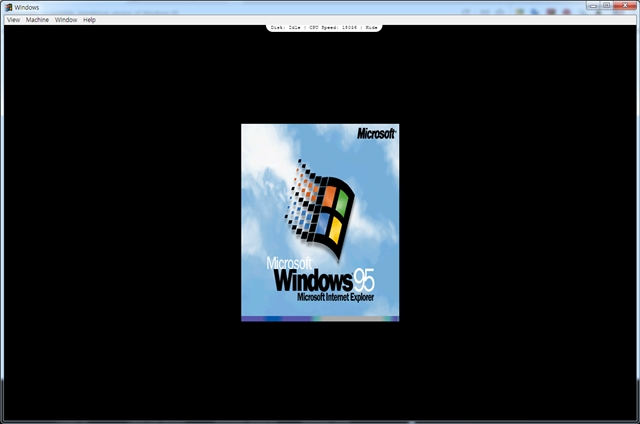 windows 95 시작