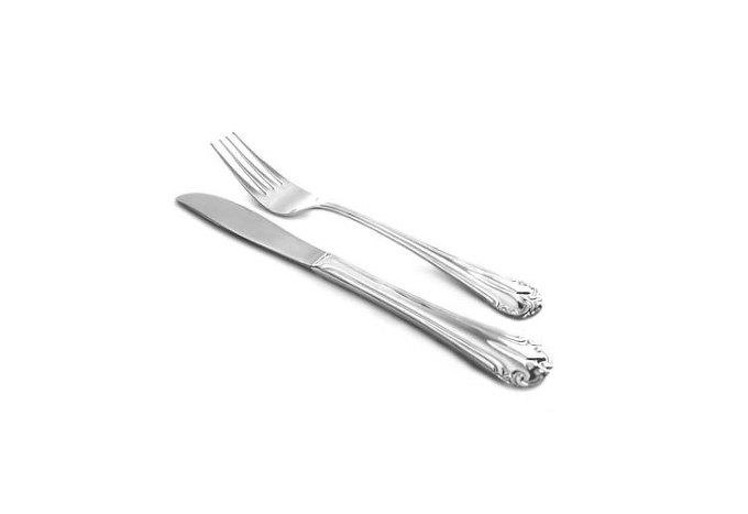 샐러드 포크와 나이프