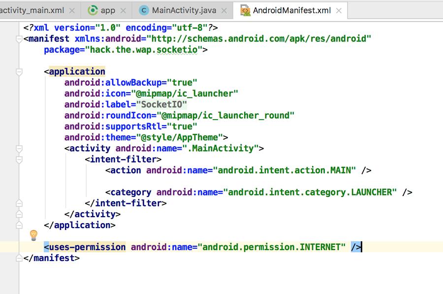 NodeJS][SocketIO][Java][Android]SocketIO로 NodeJS와 Android
