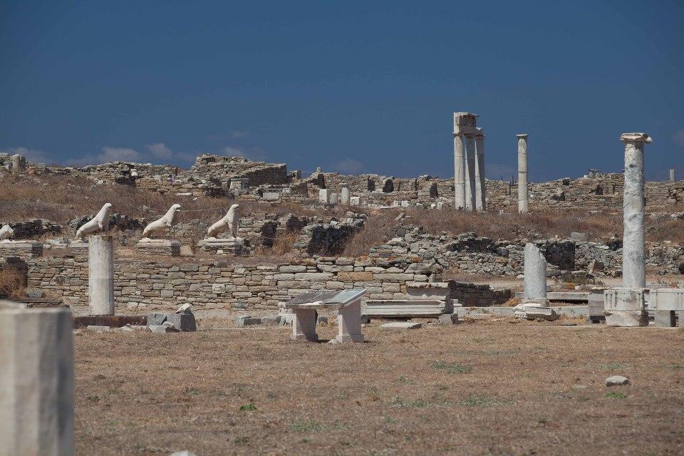 그리스 미코노스 델로스 아폴로 키클라데스