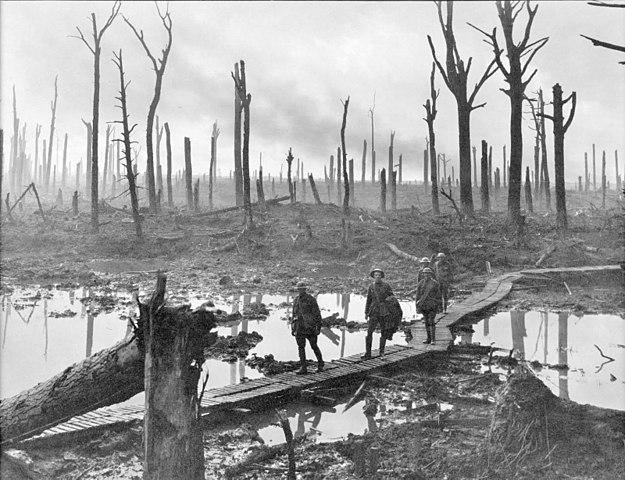 Passchendaele(파스샹달) 전투 현장