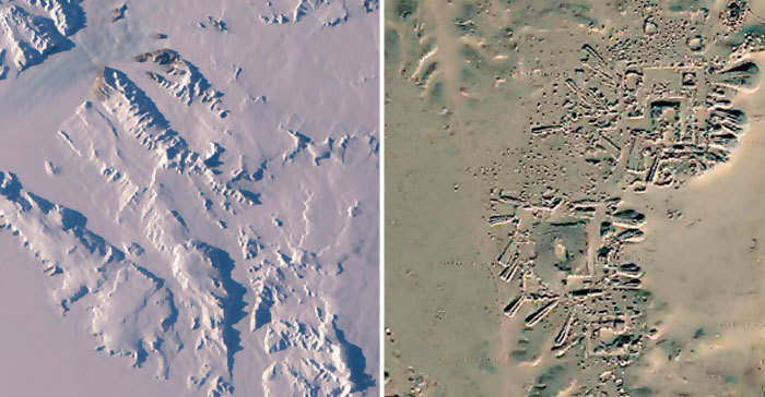 2. Ancient civilization in Antarctica, NASA