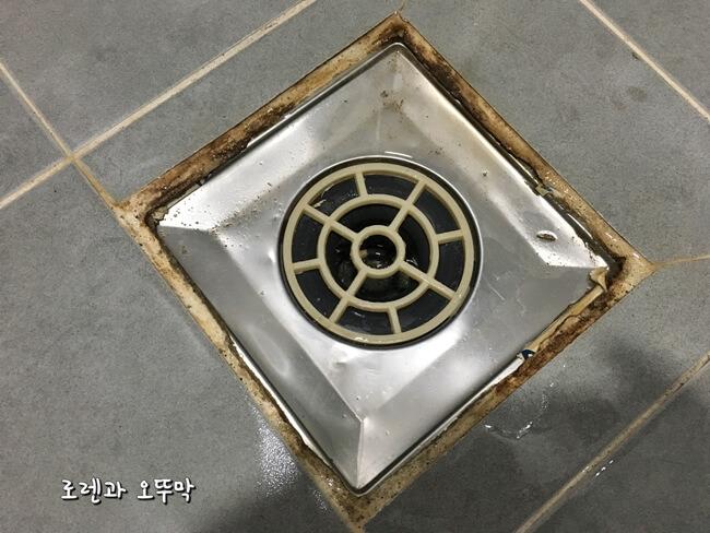 화장실 타일 줄눈 세정방법(사사삭)8