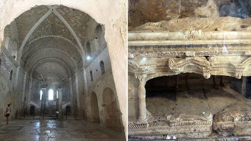사진: 산타클로스 성 니콜라스의 무덤이 발견되었다는 기사가 나왔다