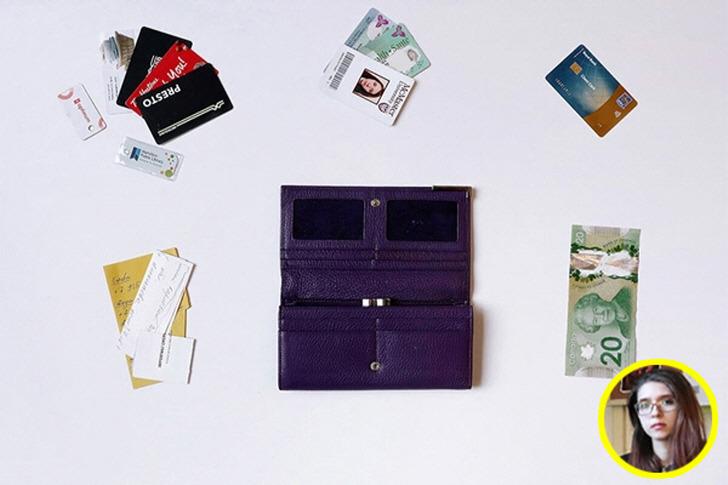 세계 여러 나라 사람들의 지갑 속 들여다보기