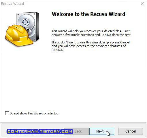 Recuva Wizard
