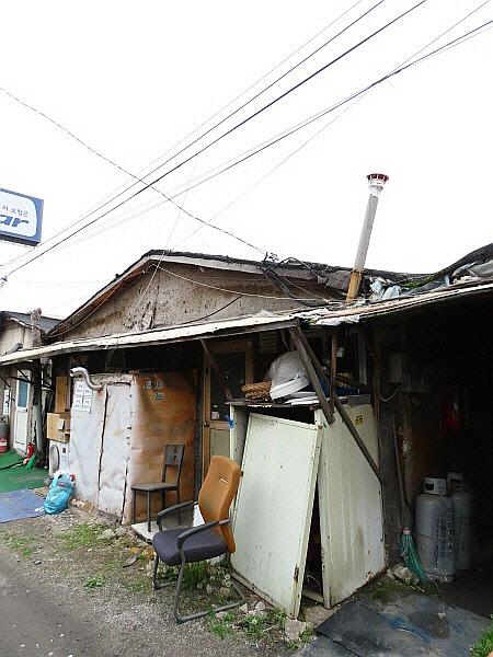장지동 판자촌 - 화훼마을