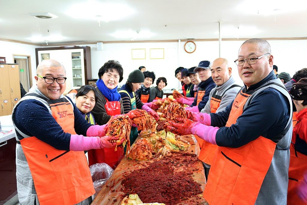 전주불교연합회 자비의 김장김치 나눔 행사