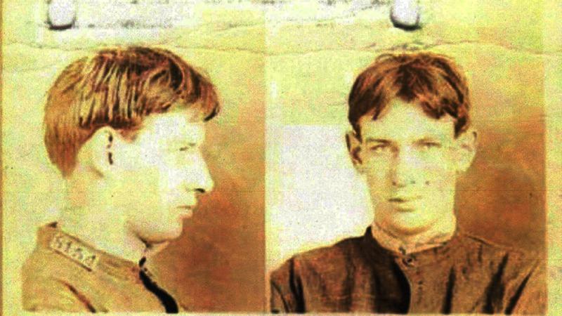 사진: 젊은 시절의 스트라우드. 다혈질의 난폭한 성격으로 살인을 저질렀다