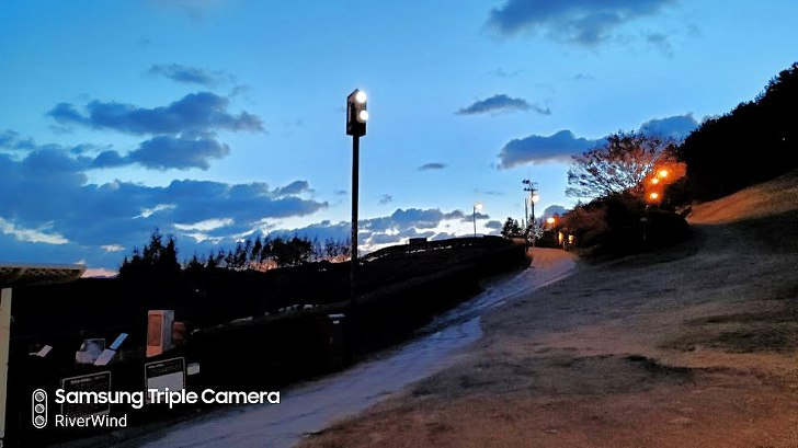 동래읍성 야경