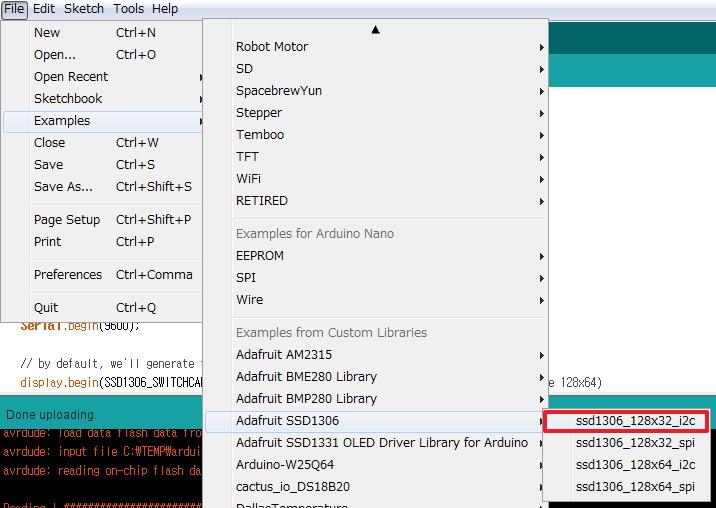 초코볼의 inside Tech :: Hardware   SSD1306 128x64 monochrome OLED 를