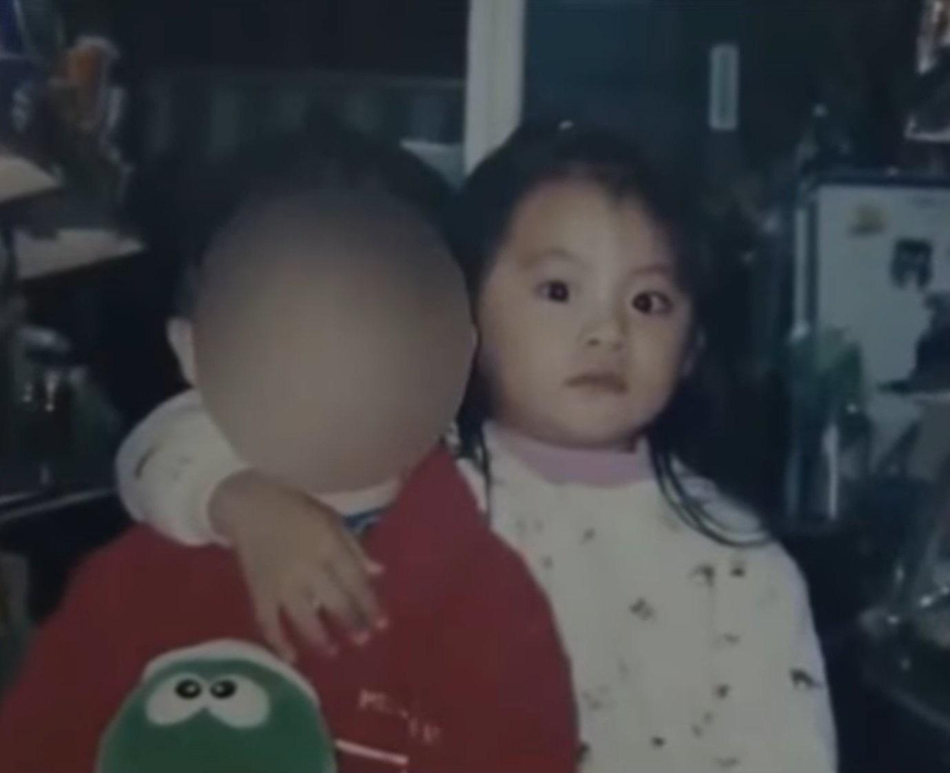 박력 넘치는 아기 쯔위