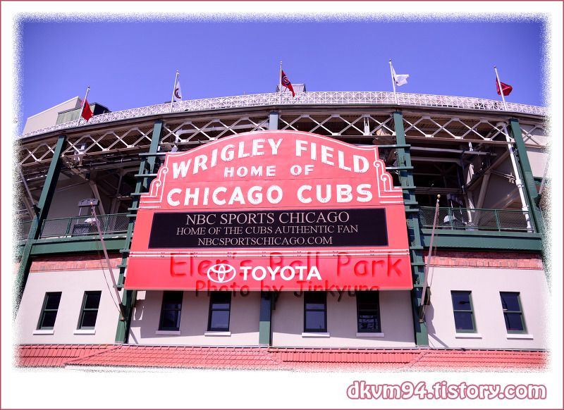 [MLB TOUR(21)] 리글리 필드 : 시카고 컵스의 홈구장 (Wrigley Field : Home of the Chicago Cubs)