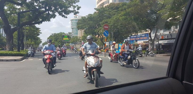 베트남 호치민 그랩카