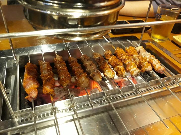 [강남맛집]양곶간 - 잘 숙성된 큼직큼직한 등심양꼬치 맛집