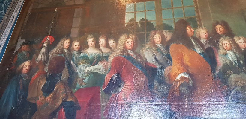 베르사유 궁전 벽화
