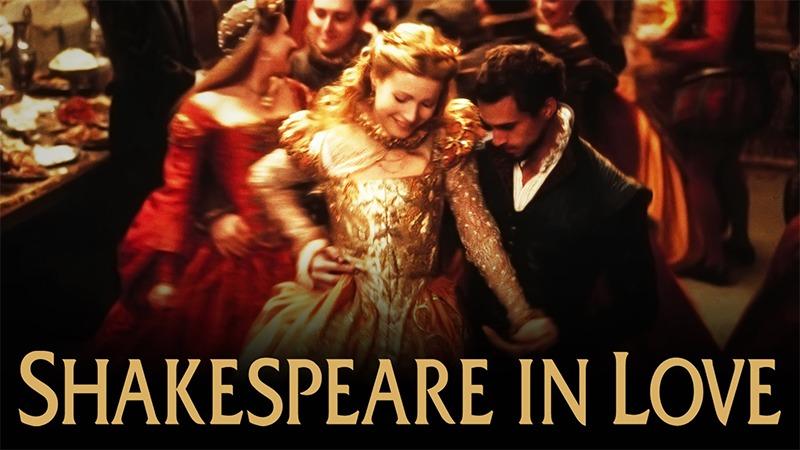 사진: 영화 Shakespeare In Love는 감독 존 매든, 조셉 파인즈, 기네스 펠트로 주연이다