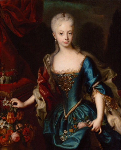 young Maria Theresia