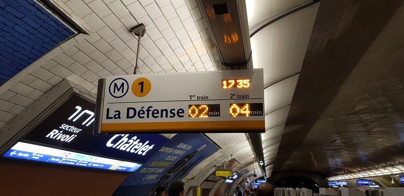 프랑스 파리의 지하철