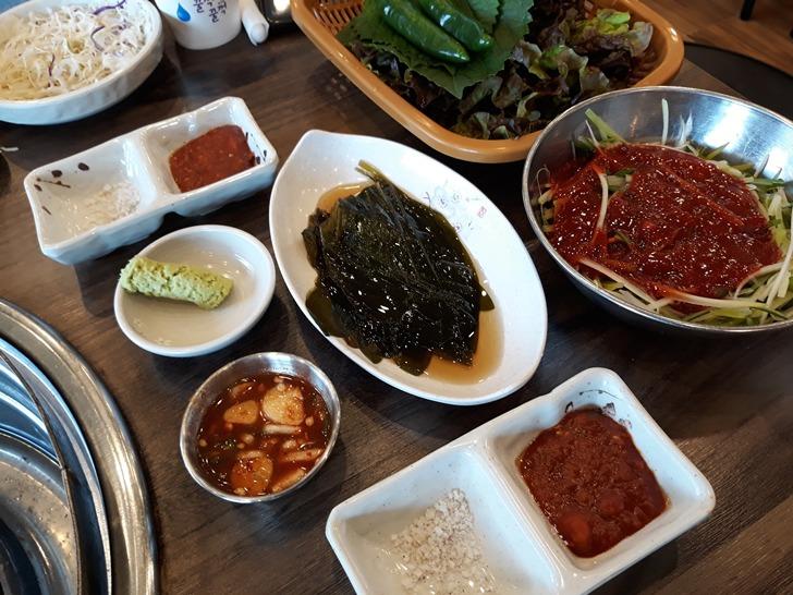 [오산맛집]민들레화로 - 숯불에 구워먹는 육즙가득 통갈매기살 맛집