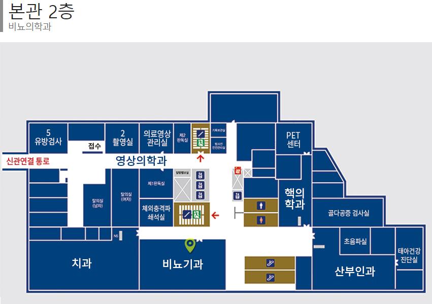 한양대학교병원 본관 2층