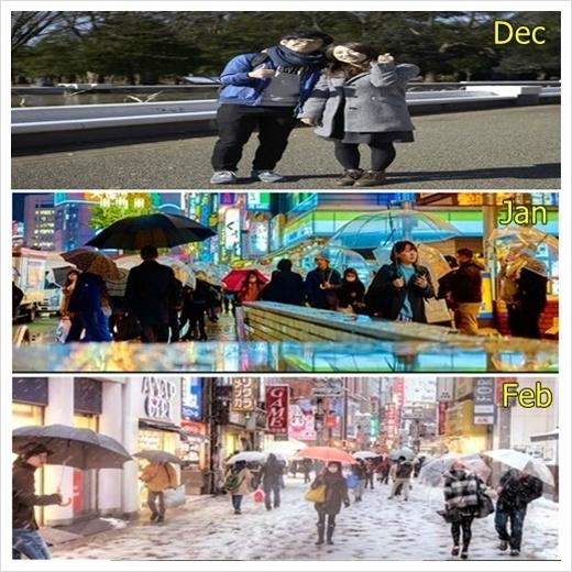 도쿄 2월 날씨 옷차림