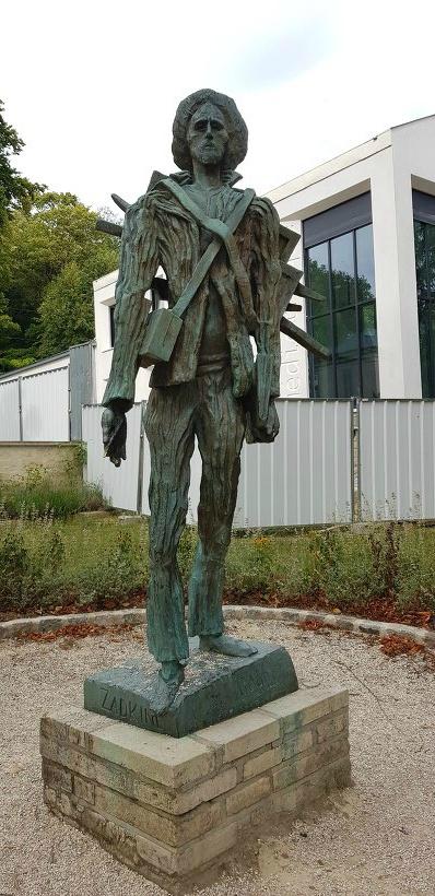 고흐마을 오베르 쉬르 우아즈 - 고흐 동상