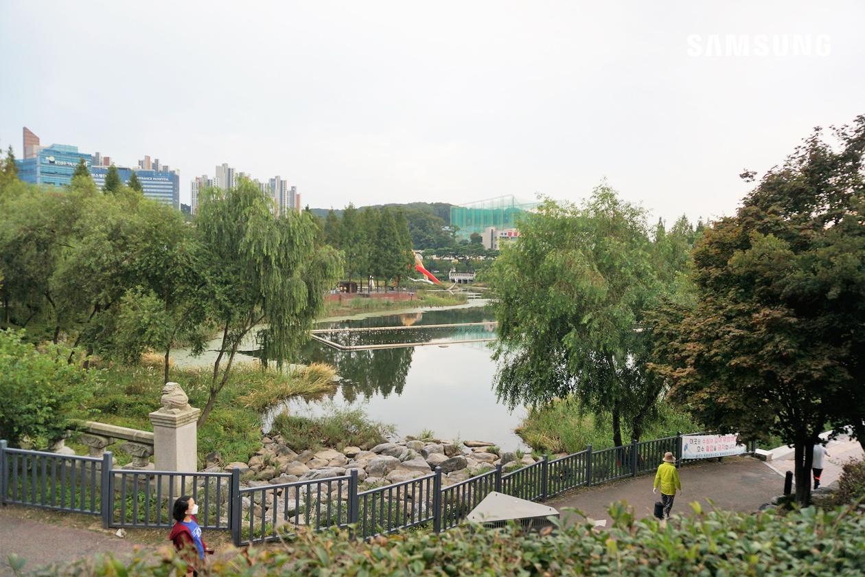 동백 호수공원