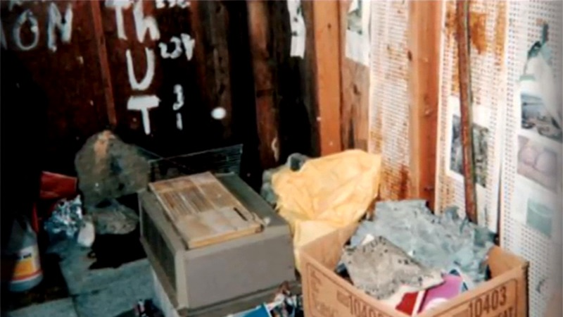 사진: 데이비드 찰스 한이 실험했던 집의 창고 내부