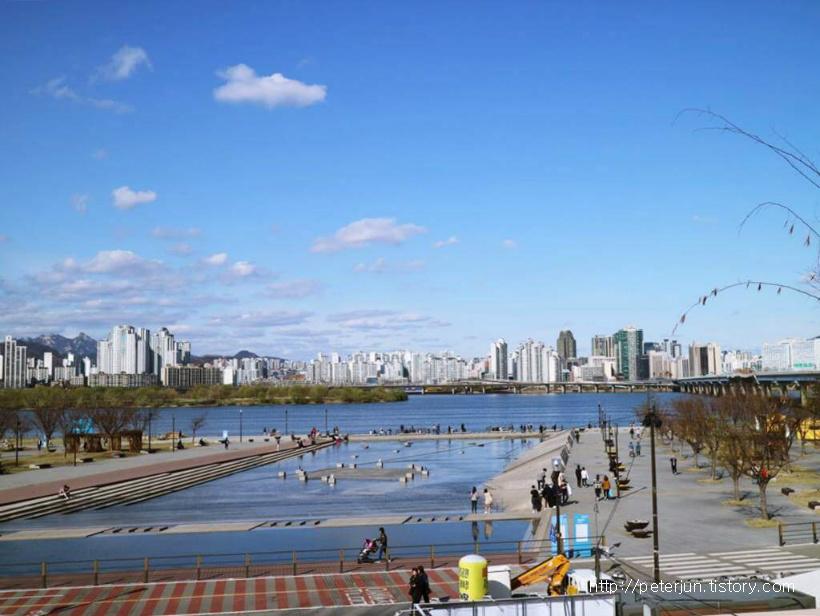서강대교 근처 풍경