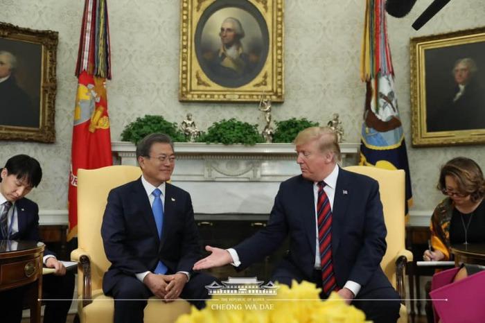 한미정상회담 문대통령&트럼프 발언록