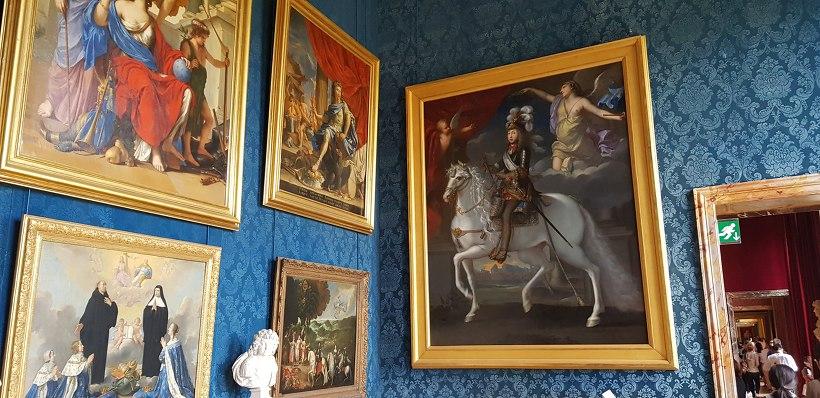 베르사유 궁전 벽화들
