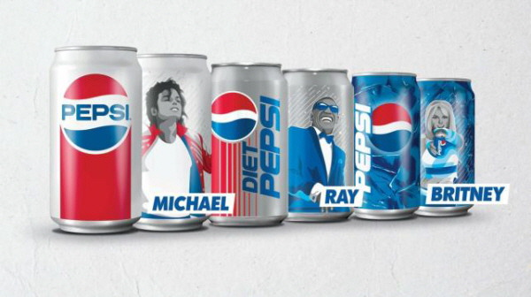 Pepsi-Limited-edition-Michael-Jackson-Ray-Charles-Britney-Spears