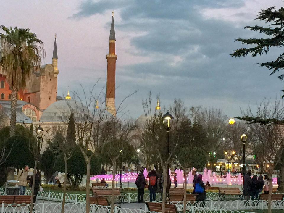 톱카프궁전 이스탄불 술탄아흐메트 터키