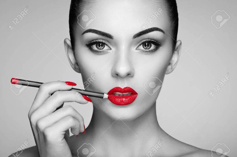 빨간 립스틱