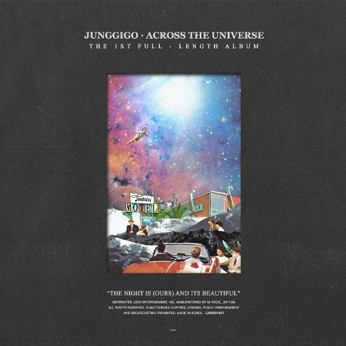 JUNGGIGO – ACROSS THE UNIVERSE Lyrics [English, Romanization]