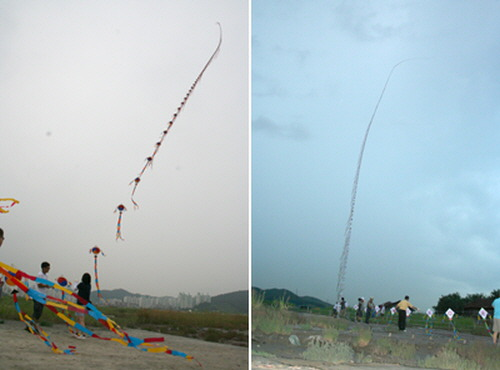 10. Korea's longest kite flying